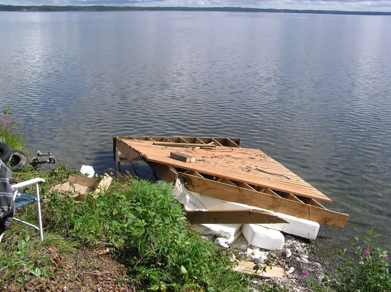 Floating Dock  How to build  Step 1