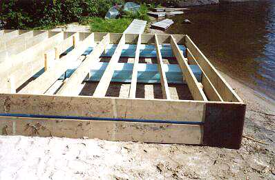 Floating Dock How To Build One Step 3